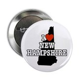 I Love New Hampshire Button
