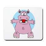 Hippo Hug Mousepad