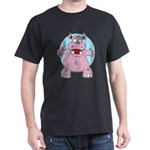 Hippo Hug Dark T-Shirt