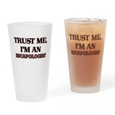 Trust Me, I'm an Escapologist Drinking Glass