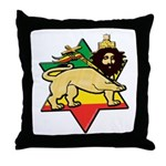 Zion Lion Throw Pillow