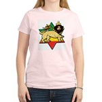 Zion Lion Women's Pink T-Shirt
