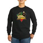 Zion Lion Long Sleeve Dark T-Shirt