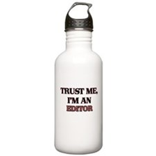 Trust Me, I'm an Editor Water Bottle