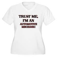 Trust Me, I'm an Automotive Mechanic Plus Size T-S