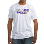 Wiggle your worm Fitted T-Shirt