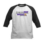 Wiggle your worm Kids Baseball Jersey