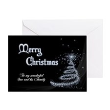Christmas card for son and family Greeting Cards