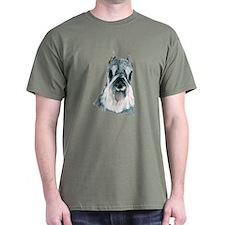 Miniature Schnauzer Dark Colored T-Shirt