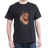 Australian Terrier, Aussie Dark Colored T-Shirt