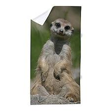 Meerkat 003 Beach Towel