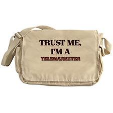 Trust Me, I'm a Telemarketer Messenger Bag