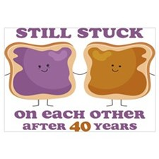 PBJ 40th Anniversary Wall Art
