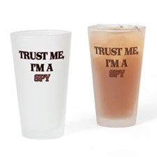 Trust Me, I'm a Spy Drinking Glass
