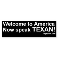 Speak TEXAN!