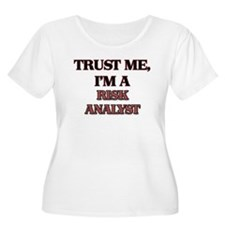Trust Me, I'm a Risk Analyst Plus Size T-Shirt