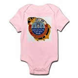 USS CALOOSAHATCHEE Infant Bodysuit