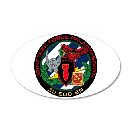 3d EOD JTF Paladin-South 35x21 Oval Wall Decal