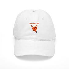Custom Winking Fox Baseball Cap