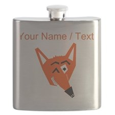 Custom Winking Fox Flask
