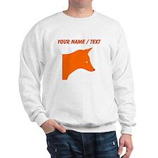 Custom Orange Fox Jumper