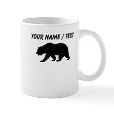 Custom Black California Bear Mugs