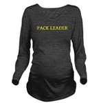 Pack Leader Long Sleeve Maternity T-Shirt
