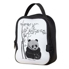 Little Panda Neoprene Lunch Bag