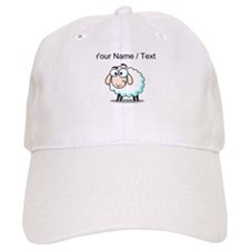 Custom Cartoon Sheep Baseball Cap