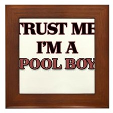 Trust Me, I'm a Pool Boy Framed Tile