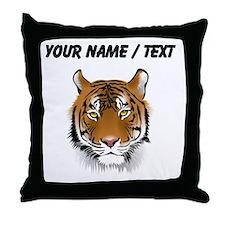 Custom Bengal Tiger Throw Pillow