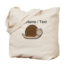 Custom Cartoon Snail Tote Bag