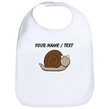 Custom Cartoon Snail Bib