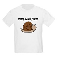 Custom Cartoon Snail T-Shirt