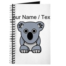 Custom Cartoon Koala Journal