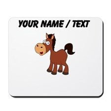 Custom Cartoon Horse Mousepad