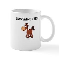 Custom Cartoon Horse Mugs