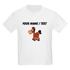 Custom Cartoon Horse T-Shirt