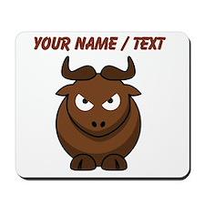 Custom Cartoon Bull Mousepad