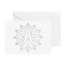 Crystalite Mandala on Card w/o msg
