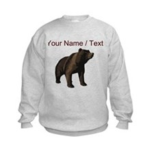 Custom Grizzly Bear Sweatshirt