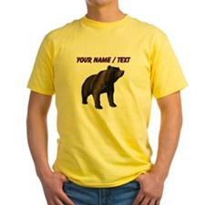 Custom Grizzly Bear T-Shirt