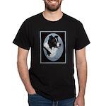 Border Collie Profile Dark T-Shirt