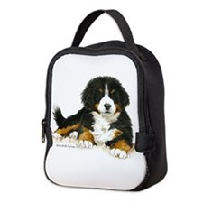 Bernese Mountain Dog Bright Eyes Neoprene Lunch Ba