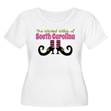 Wicked Witch of South Carolina Plus Size T-Shirt