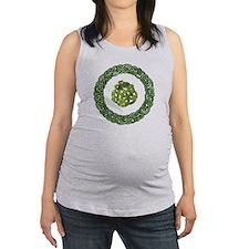 Celtic Dragon 2 Maternity Tank Top