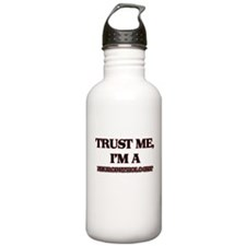 Trust Me, I'm a Neuropathologist Water Bottle