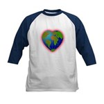Earth Heart Kids Baseball Jersey