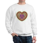 Biohazard Heart Sweatshirt