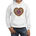 Biohazard Heart Hooded Sweatshirt